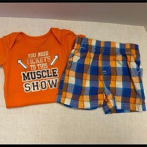 Garanimals Baby Boy's 2-Piece Outfit Set